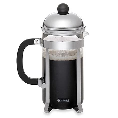 bed bath and beyond french press bonjour 174 monet french press bed bath beyond