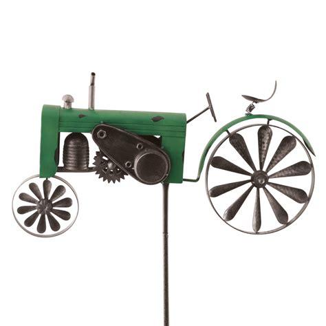 Metall Deko Garten Gebraucht by Windspiel Trecker Traktor Gr 252 N Metall Windrad Garten