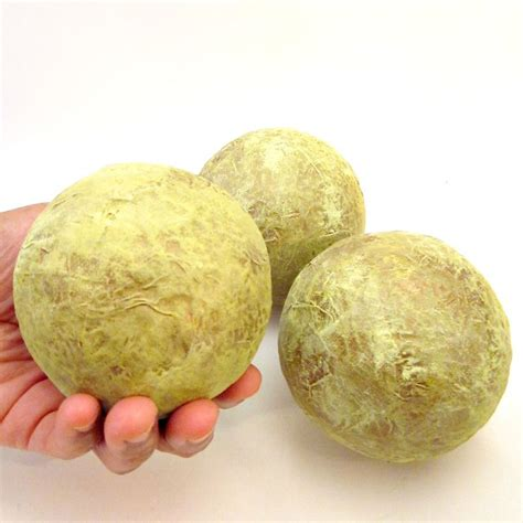 Green Decorative Balls by Green And Gold Handmade Papier Mache Accent Balls Set Of