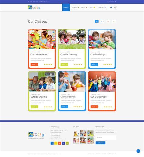 theme wordpress kindergarten primary kindergarten school wordpress theme wordpress