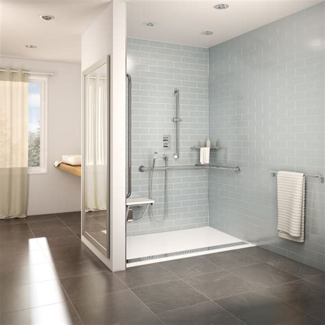 Small Bathroom Tile Ideas Pictures by Fleurco Introduces The Accessible Design Shower Bases A
