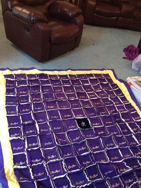 How To Make A Crown Royal Bag Quilt by Crown Royal Bag Quilt Things I Done
