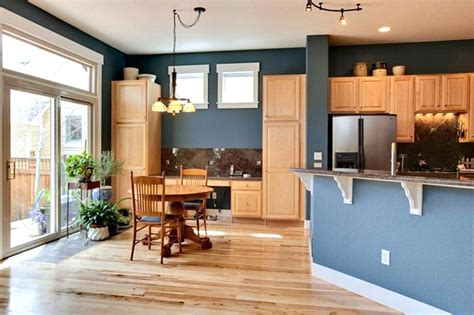 paint colors that work with honey oak cabinets www