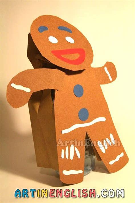 printable gingerbread man paper bag puppet search results for gingerbread man paper calendar 2015