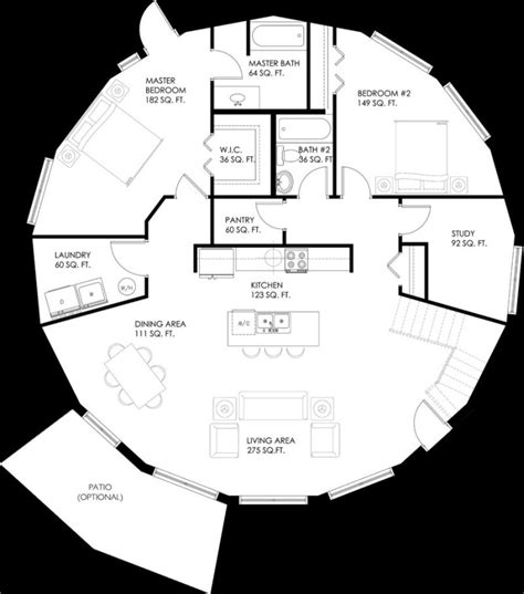 Circular Floor Plans | circular house plans shapes from nature