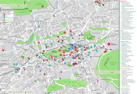 printable city road maps edinburgh street map printable printable maps