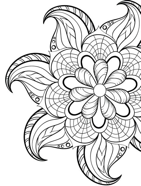 free printable unique coloring pages for adults free coloring book pages to print stallt co