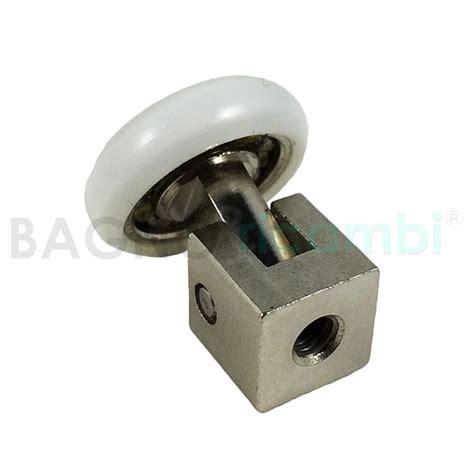 ricambi box doccia titan titan rotellina a snodo per box doccia q45 bagno e