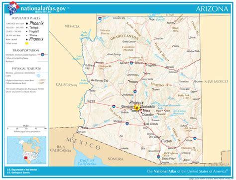 Arizona State by Arizona State Maps Interactive Arizona State Road Maps