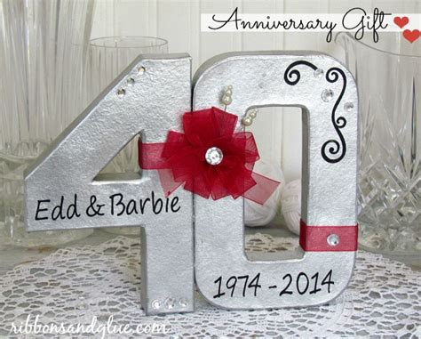 40th Wedding Anniversary Gifts by Wedding Anniversary Gifts 40th Wedding Anniversary Gift