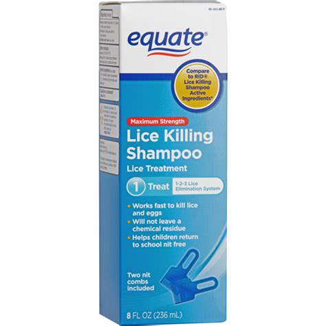 equate lice treatment shoo 8 fl oz fast shipping to