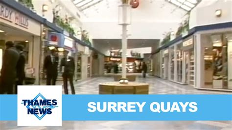 thames clipper surrey quays surrey quays shopping centre opening thames news youtube