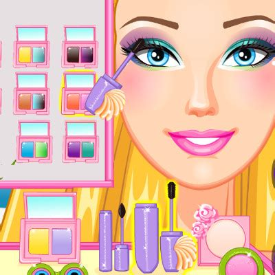 barbie games hairstyles and dress up barbie makeup and dress up games barbie summer makeup