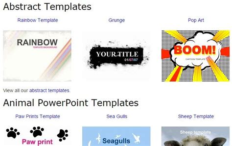 10 great websites for free powerpoint templates