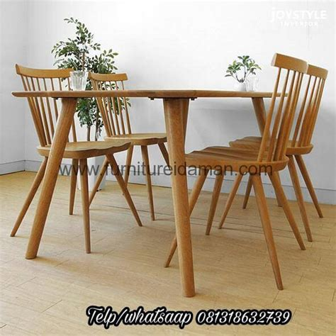set kursi meja cafe resto jari kci  furniture idaman