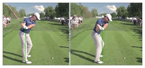 shallow golf swing why do they teach to re route on the backswing and