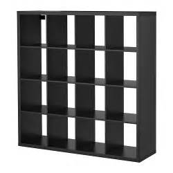 kallax shelving unit black brown ikea