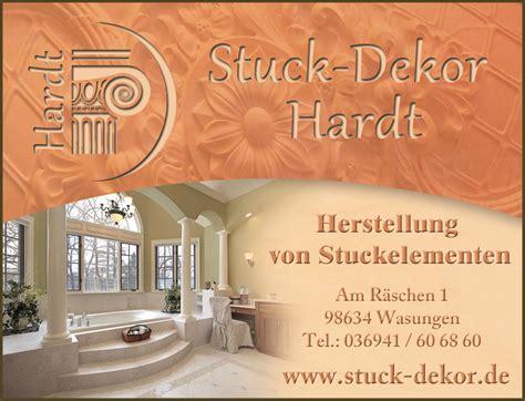 stuck dekor stuck dekor staub ohg hockenheim news stuck shop