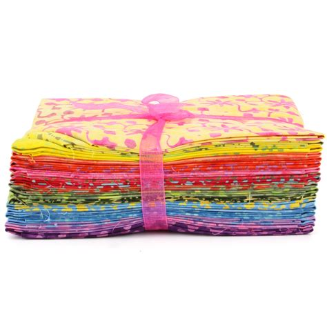 Pre Sewn Patchwork Fabric - fabric quarter bundle cotton craft pre cut quilting