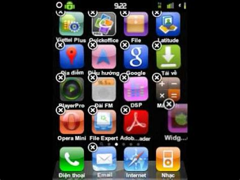 themes iphone cho galaxy y giao dien iphone cho galaxy y youtube