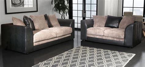 Black And Grey Sofa Set 3 2 Seater Black And Grey Portobello Cord Black And Grey Black Leather Sofas Sofas