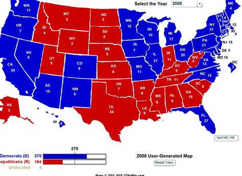 map of us election results stivers 171 the recovering politician