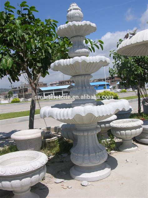 large outdoor water fountains and indoor water fountain