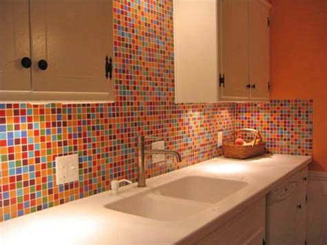 colorful backsplash tile glass tile kitchen backsplash pictures imagine the