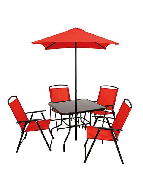Sun Chairs Asda by Miami Patio Set 6 For 163 75 00 Direct Asda