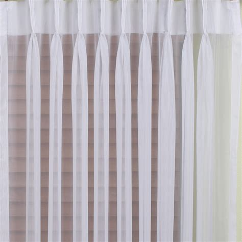 white pinch pleat curtains buy venice sheer pinch pleat curtains online curtain