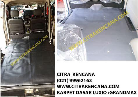 Karpet Mobil Grand Max jual karpet dasar luxio grandmax citra kencana