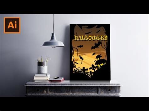 tutorial illustrator bahasa indonesia membuat poster halloween adobe illustrator bahasa