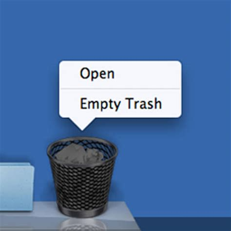 empty trash on android 12 apps to permanently delete files from your macos x forever