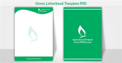 template design of psd free downloads 15 free vector psd company letter head design template