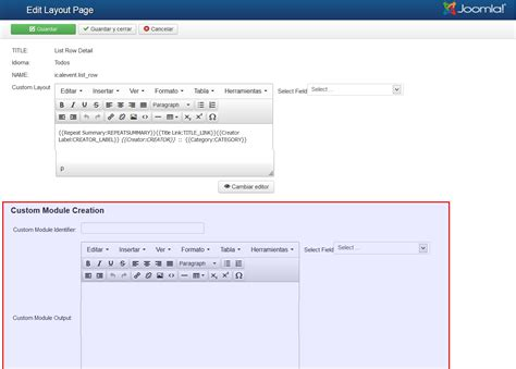 joomla layout editor how to use jevents custom module