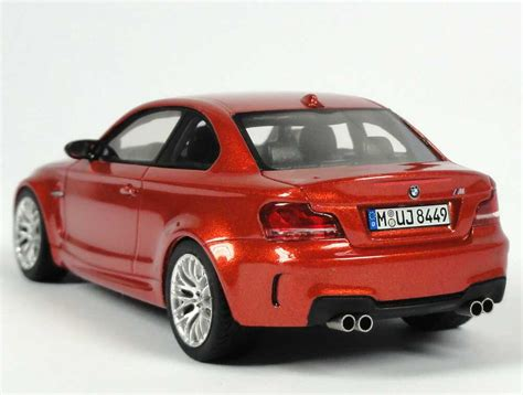 Bmw 1er Coupe Datenblatt by Bmw 1er M Coup 233 E82 Valencia Orange Met Werbemodell