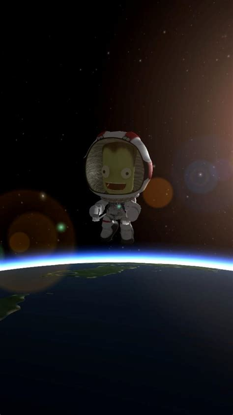 orbit ksp kerbal space program kerbals kerbin wallpaper
