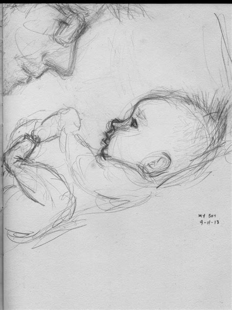 365 Sketches Drawings by 25 Best Ideas About Baby Drawing On Human