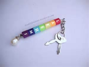 How To Make Paper Key - diy rainbow quilling keychain m de by lakshmi
