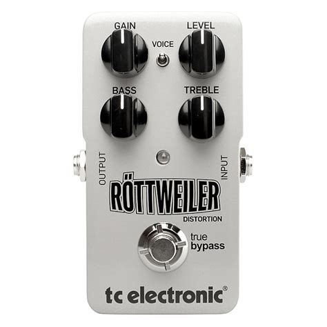 tc electronic rottweiler distortion guitar effects pedal