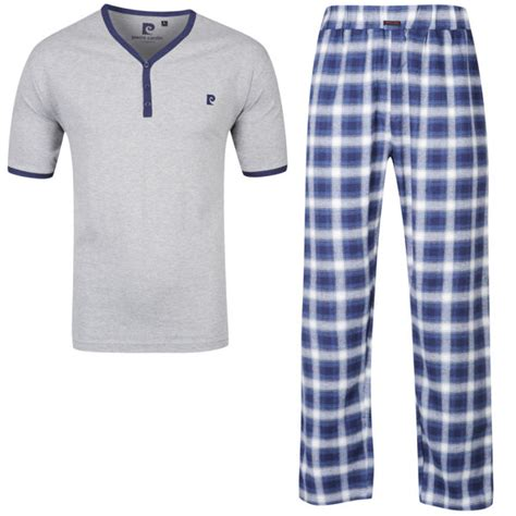 Navy Tsum Tsum Family Mens Pajamas cardin s checkered loungewear navy mens