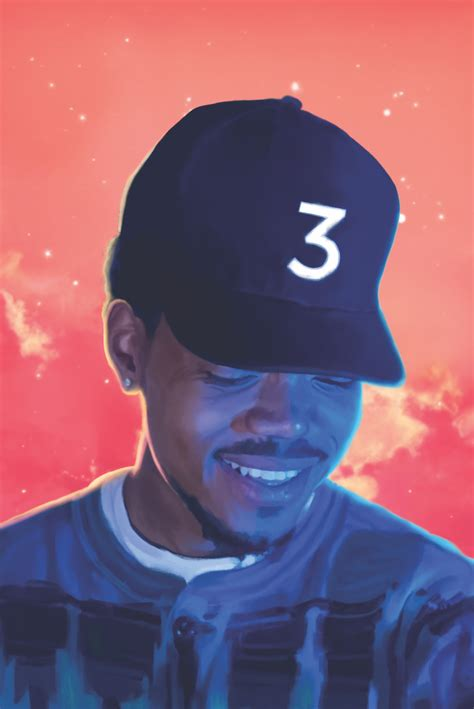 coloring book chance the rapper reddit chance 3 1000x1497 iwallpaper