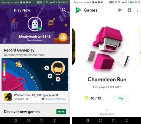 android full version games and apps google play games gets new mini games and redesign in