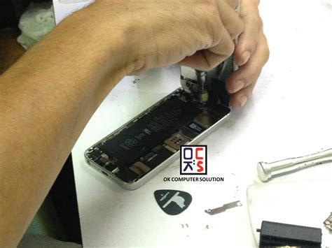 Tukar Lcd Iphone 5 ok computer solution iphone 5s screen replacement