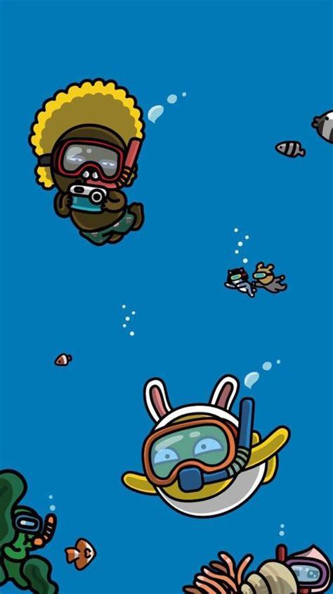 cartoon wallpaper uk 카카오프렌즈 아이폰 카톡 테마 배경화면 네이버 블로그 kakao pinterest