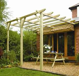 Wooden Canopies by Rowlinson Sienna Wooden Lean To Canopy Pergola Internet