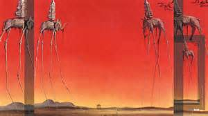 Salvador Dali Painting Of Elephants With Trumpet Heads » Home Design 2017
