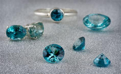 gem in the spotlight blue zircon the colored gemstone