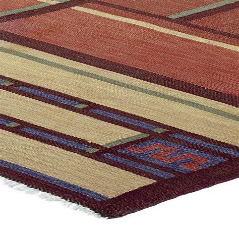 flatwoven rugs vintage swedish flat woven rug by tora hokansson bb4706 by doris leslie blau