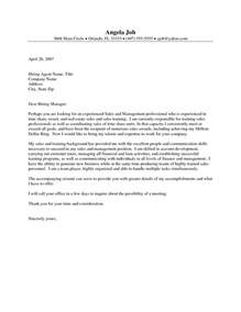 real estate cover letter sles the letter sle